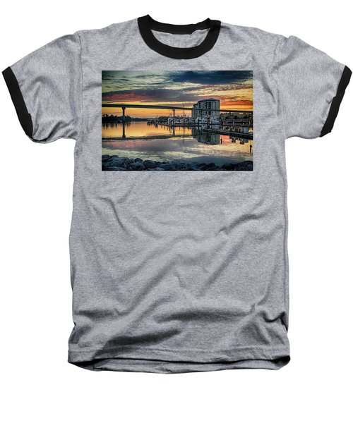 Intercoastal Waterway And The Wharf Baseball T-Shirt