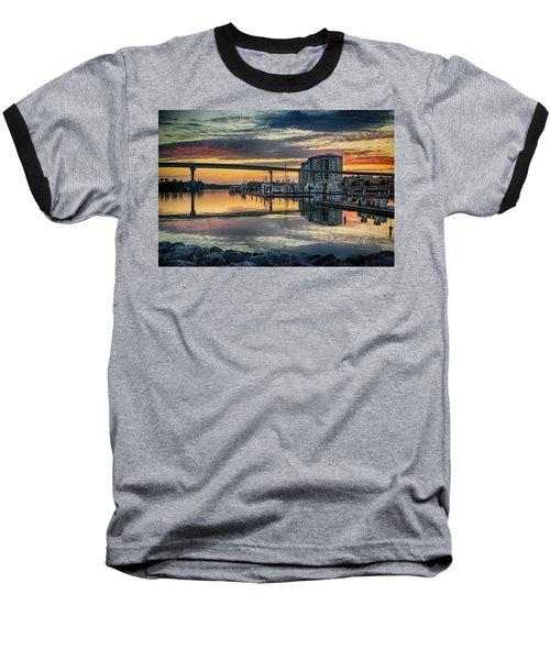 Intercoastal Waterway And The Wharf Baseball T-Shirt