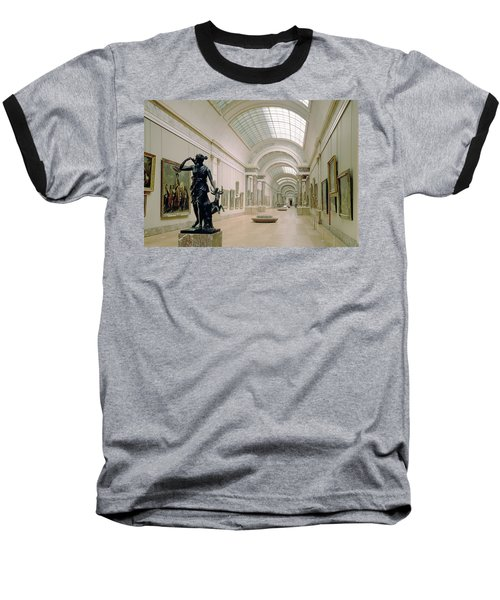 Interior View Of The Grande Galerie, 16th-19th Century Photo Baseball T-Shirt