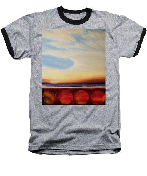 Internal Fires Baseball T-Shirt by Albert Puskaric