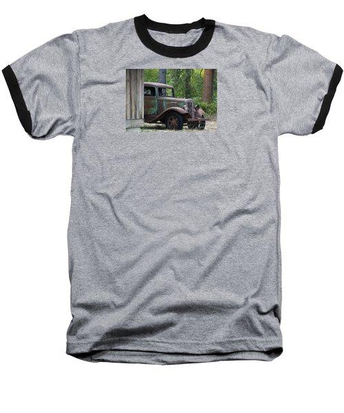 International At Cle Elum Baseball T-Shirt by Jean OKeeffe Macro Abundance Art