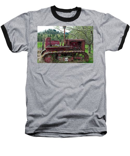 International Harvester Baseball T-Shirt by Tikvah's Hope