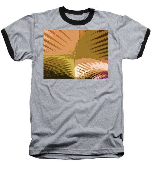 Intersection Baseball T-Shirt by Julio Lopez