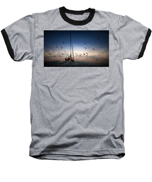 Into The Blue Baseball T-Shirt