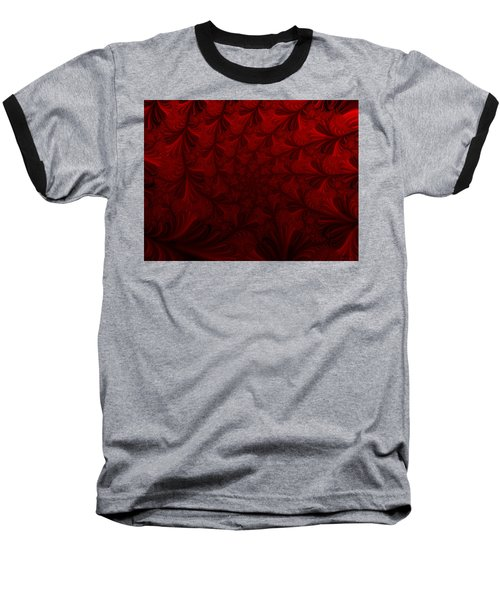 Baseball T-Shirt featuring the digital art Into The Dream by Elizabeth McTaggart