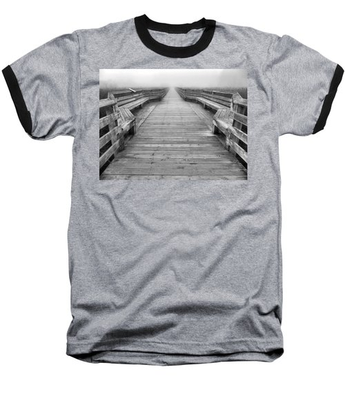 Into The Fog Baseball T-Shirt