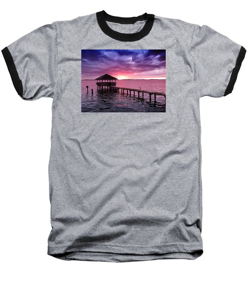 Into The Horizon Baseball T-Shirt by Rebecca Davis