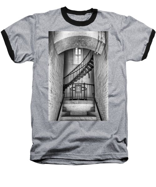 Baseball T-Shirt featuring the photograph Into The Light by Howard Salmon
