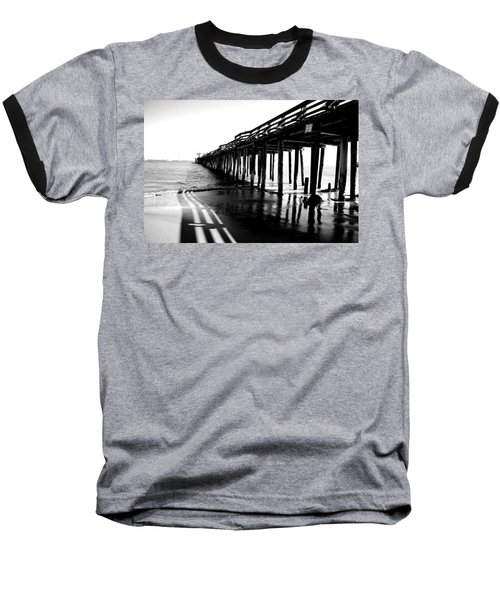 Into The Sea Baseball T-Shirt