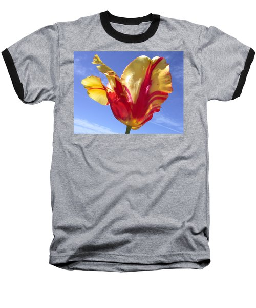 Into The Sky Baseball T-Shirt