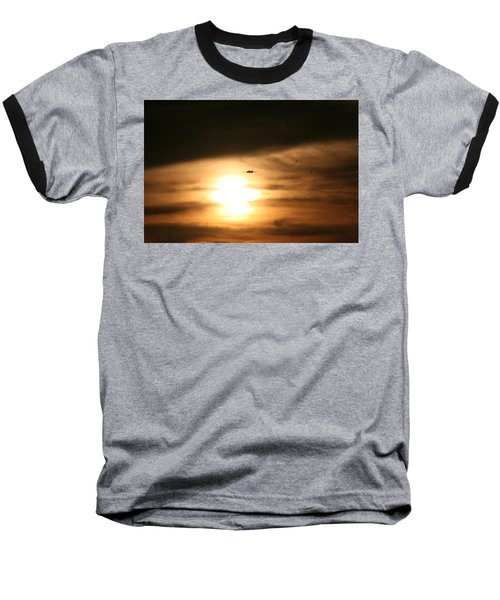 Baseball T-Shirt featuring the photograph Into The Sun by David S Reynolds