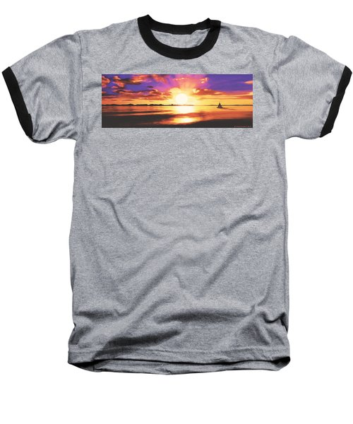 Into The Sunset Baseball T-Shirt