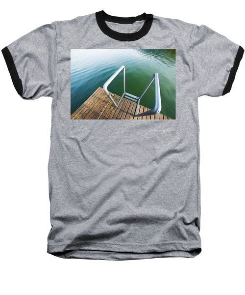 Into The Water Baseball T-Shirt by Chevy Fleet