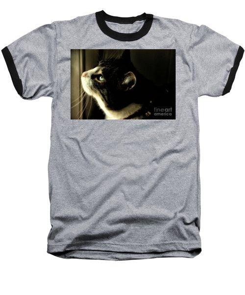 Intrigued Baseball T-Shirt