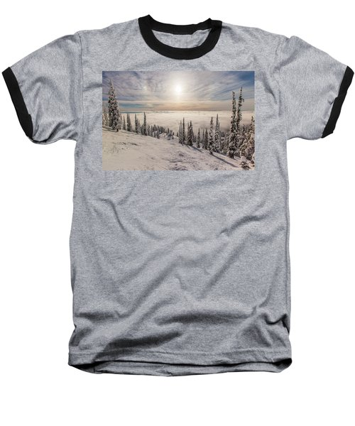 Inversion Sunset Baseball T-Shirt