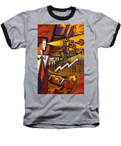 Investor Baseball T-Shirt