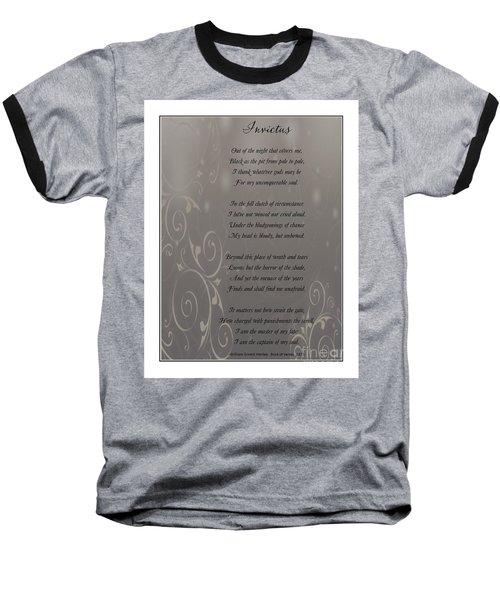 Invictus Tribute 2 Baseball T-Shirt