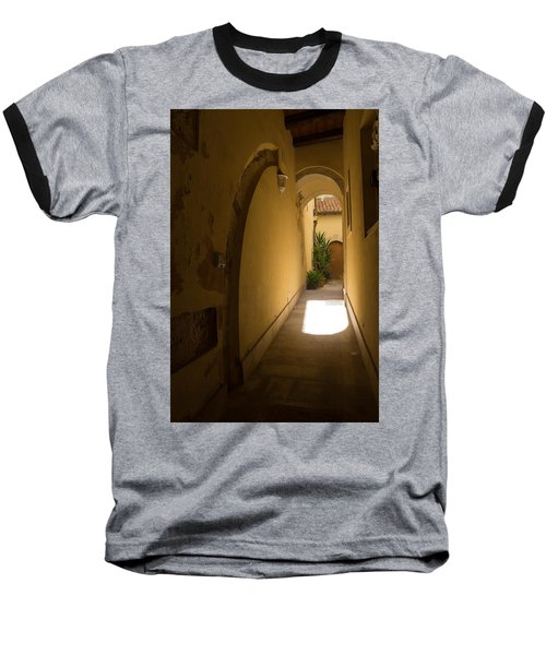 Baseball T-Shirt featuring the photograph Invitation by Georgia Mizuleva