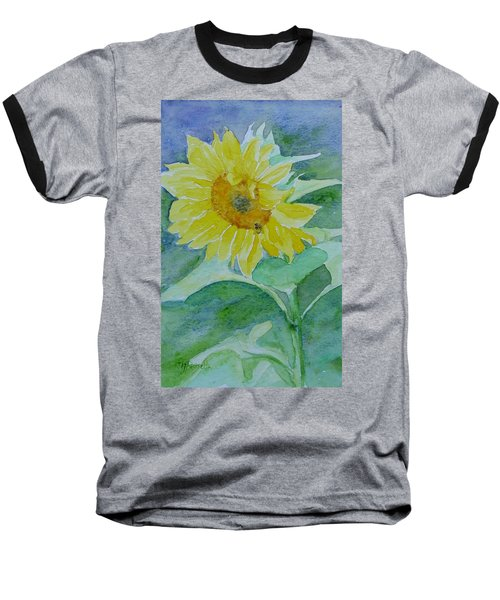 Inviting Sunflower Small Sunflower Art Baseball T-Shirt