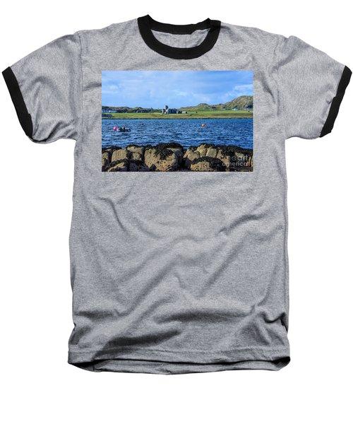Iona Abbey Isle Of Iona Baseball T-Shirt