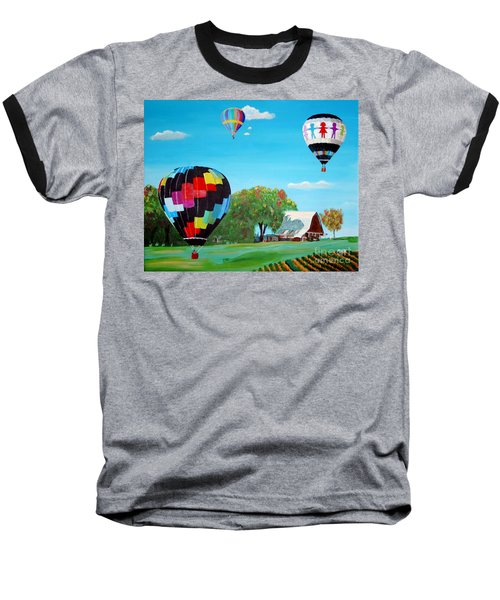 Iowa Balloons Baseball T-Shirt