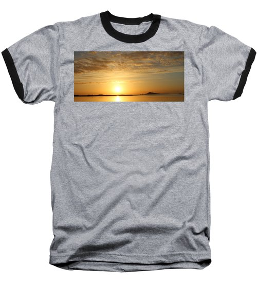 Irelands Eye At Dawn Baseball T-Shirt
