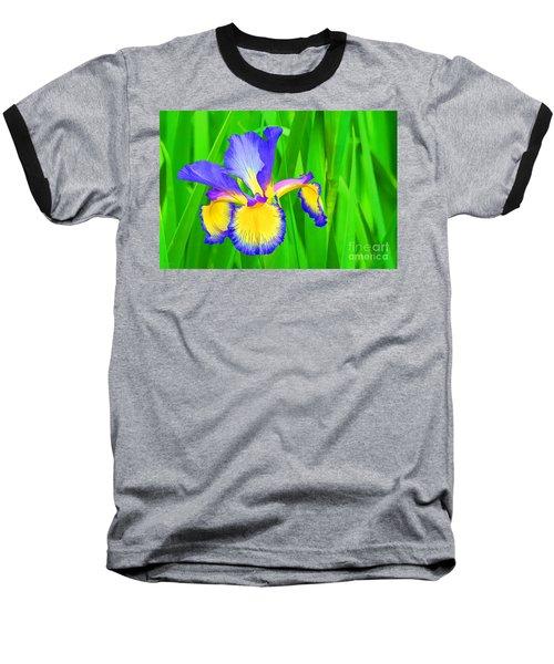 Iris Blossom Baseball T-Shirt