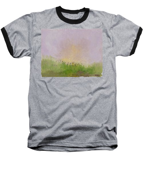 Iris Field Baseball T-Shirt