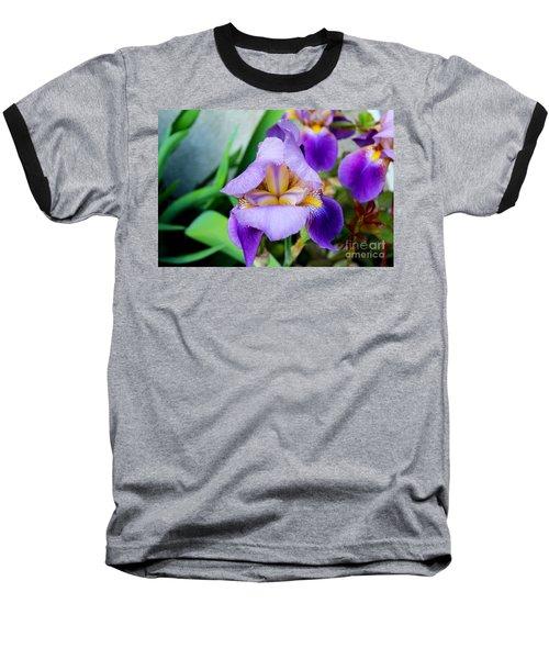 Iris From The Garden Baseball T-Shirt