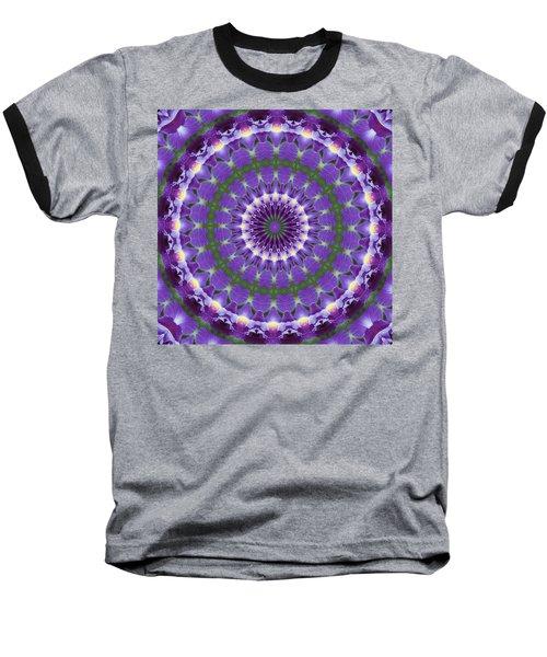 Iris Kaleidoscope  Baseball T-Shirt