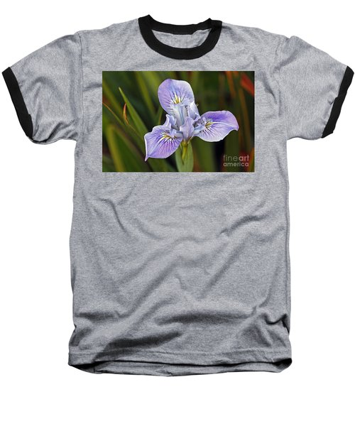 Baseball T-Shirt featuring the photograph Iris by Kate Brown