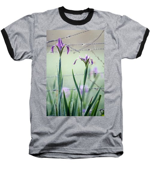 Irises2 Baseball T-Shirt