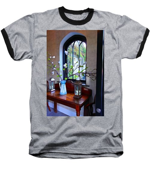 Baseball T-Shirt featuring the photograph Irish Elegance by Charlie and Norma Brock