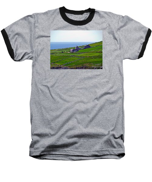 Irish Farm 1 Baseball T-Shirt by Patricia Griffin Brett
