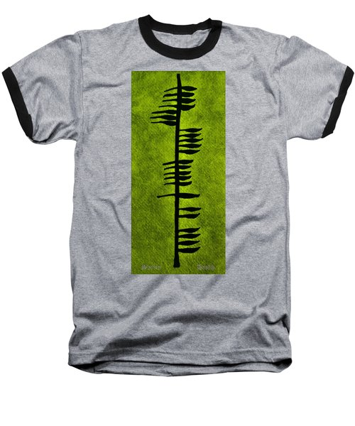 Irish Ogham Meaning Health Baseball T-Shirt