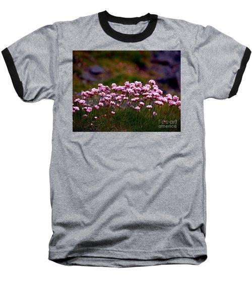 Irish Sea Pinks Baseball T-Shirt