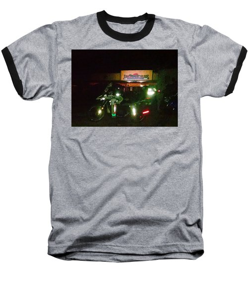 Iron Horse Lodge Evening Baseball T-Shirt