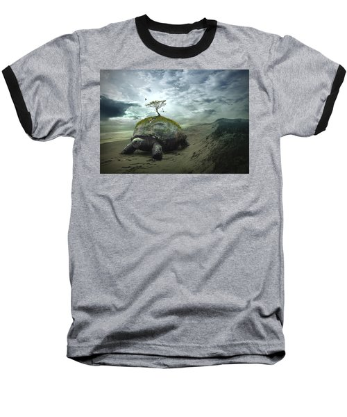 Iroquois Creation Story Baseball T-Shirt