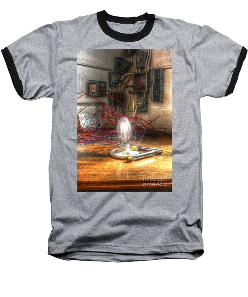 Is This Right Mr. Edison? Baseball T-Shirt