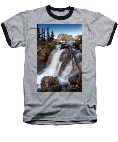 Isabelle Falls Baseball T-Shirt by Steven Reed