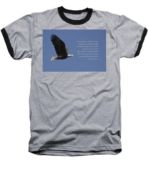 Isaiah 40 Baseball T-Shirt