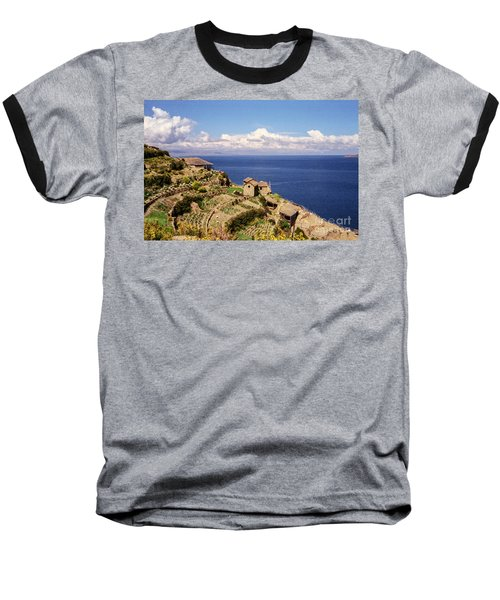 Baseball T-Shirt featuring the photograph Isla Del Sol by Suzanne Luft