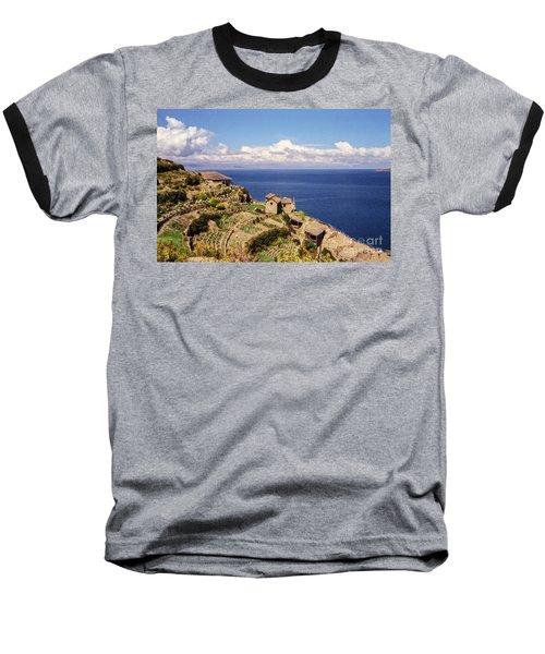 Isla Del Sol Baseball T-Shirt by Suzanne Luft