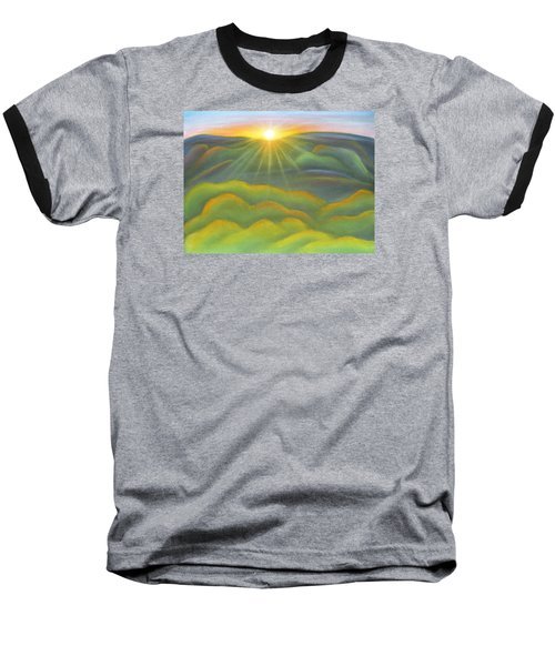 Isla Gorge Sunset Baseball T-Shirt