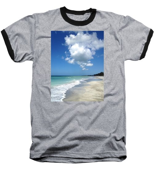 Island Escape  Baseball T-Shirt by Margie Amberge