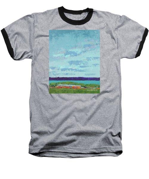 Island Estuary Baseball T-Shirt