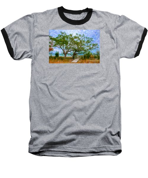 Island Time On Daniel Island Baseball T-Shirt
