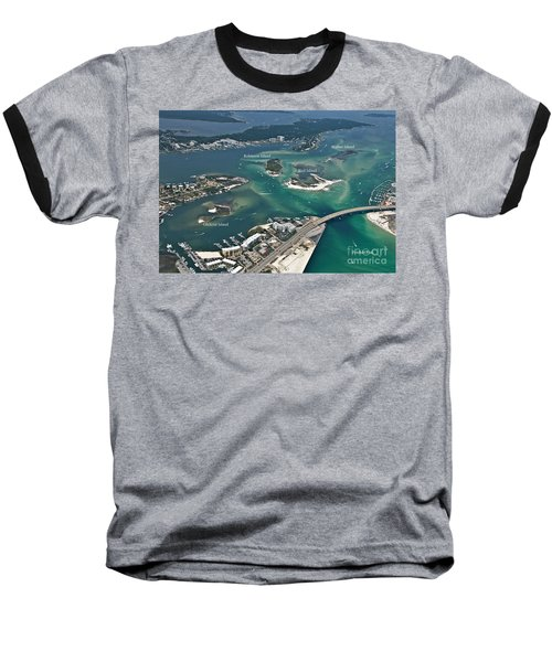 Islands Of Perdido - Labeled Baseball T-Shirt