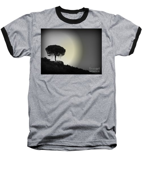 Baseball T-Shirt featuring the photograph Isolation Tree by Clare Bevan