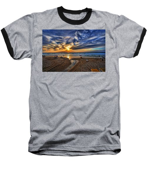 Baseball T-Shirt featuring the photograph Israel Sweet Child In Time by Ron Shoshani
